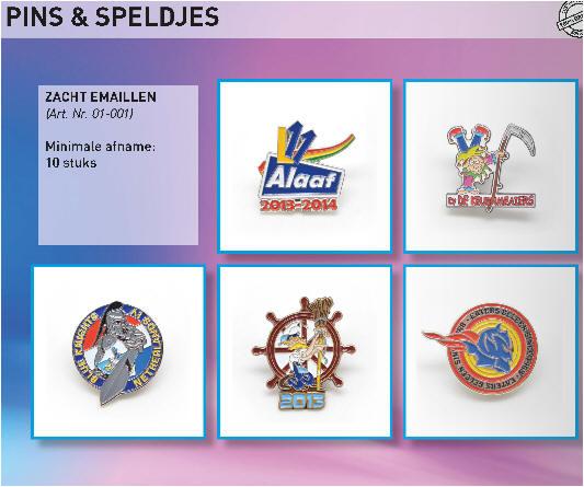 Custom made pins, speldjes, medailles
