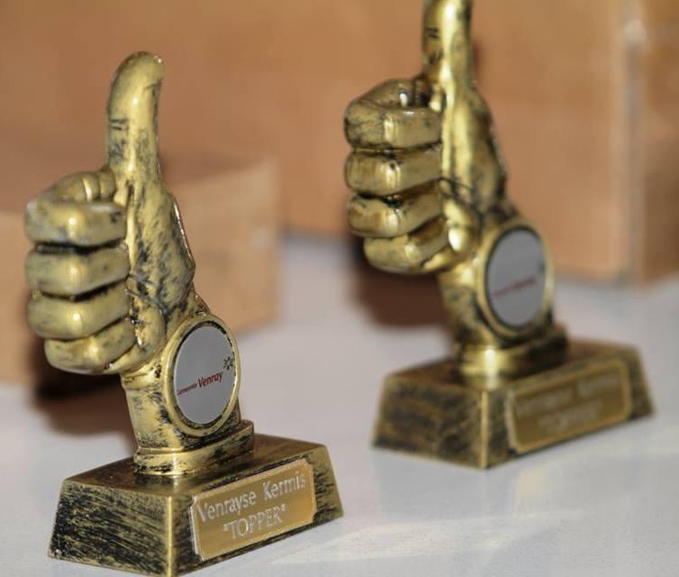Winnaars Kermistoppers kermis Venray 2016